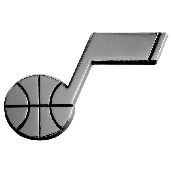 Fanmats NBA Utah Jazz Chromed Metal Emblem