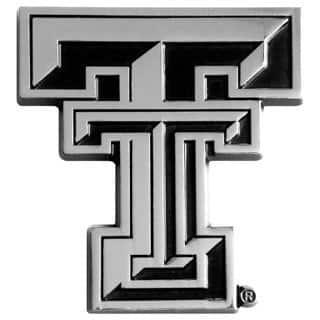Fanmats NCAA Texas Tech Chromed Metal Emblem|https://ak1.ostkcdn.com/images/products/8555457/Texas-Tech-Chromed-Metal-Emblem-P15832940.jpg?impolicy=medium