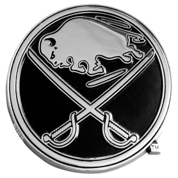 Fanmats NHL Buffalo Sabres Chromed Metal Emblem