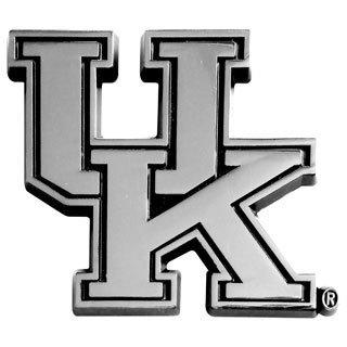 Fanmats NCAA Kentucky Chromed Metal Emblem