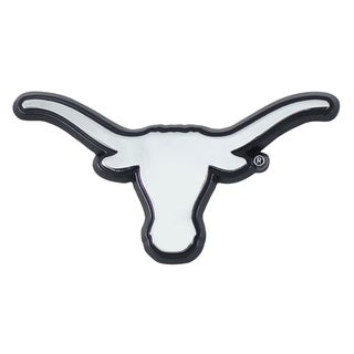 Fanmats NCAA Texas Longhorns Chromed Metal Emblem