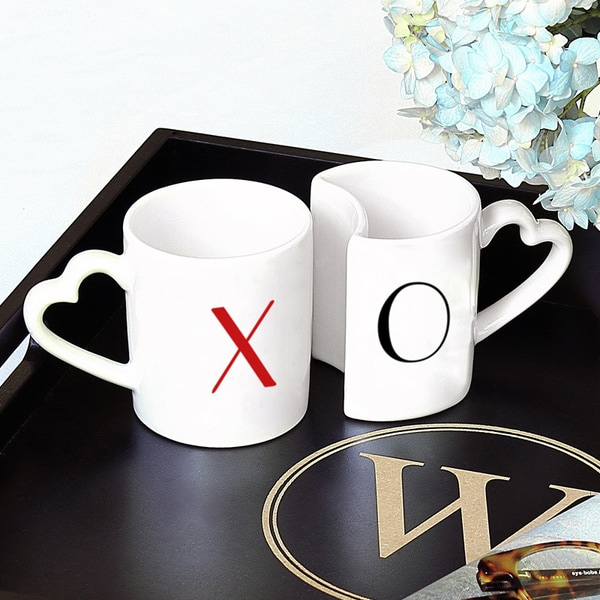 XOXO Coffee Mug Set