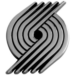 Fanmats NBA Portland Trail Blazers Chromed Metal Emblem