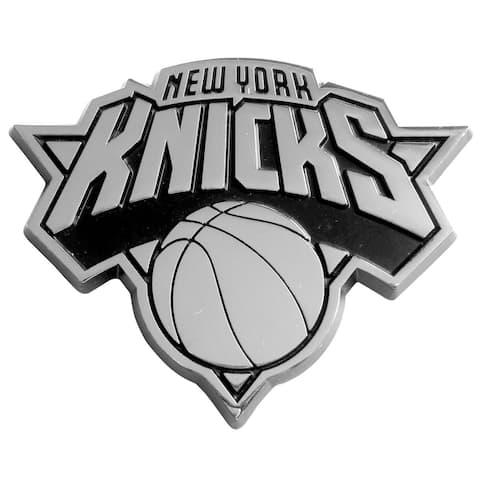 Fanmats NBA New York Knicks Chromed Metal Emblem