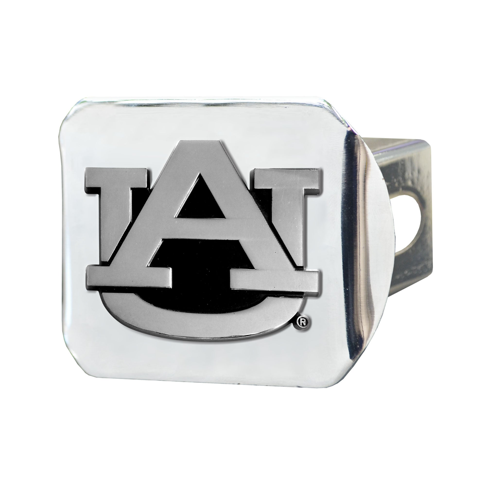 Fanmats Chrome Metal Collegiate Hitch Cover