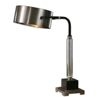 Uttermost Belding 1-light Brushed Aluminum Buffet Lamp