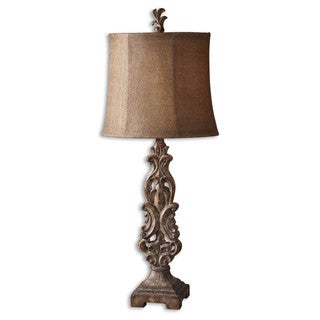 Uttermost Gia 1-light Antiqued Buffet Lamp
