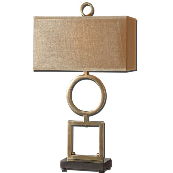 Uttermost Rashawn 1 Light Plated Coffee Bronze Table Lamp Free Shipping Today