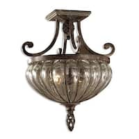 Uttermost Galeana 2-light Semi-flush Mount