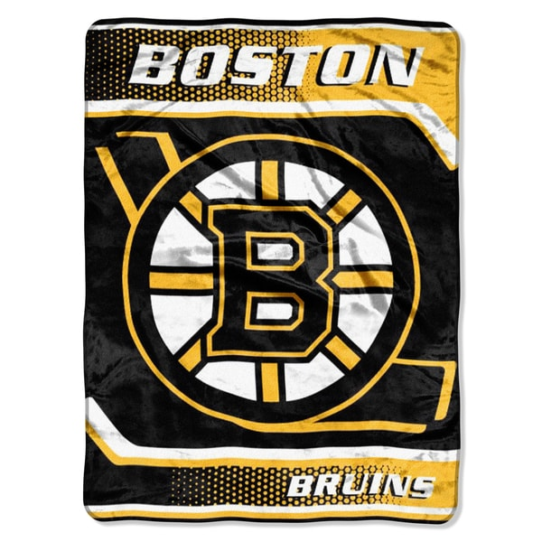 Raschel NHL Boston Bruins Banner Throw