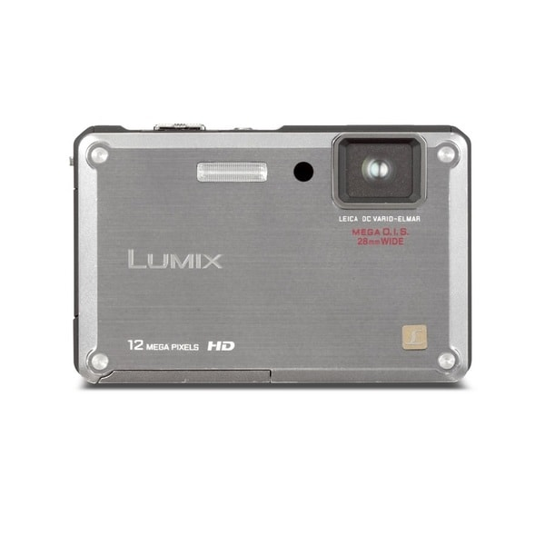 Panasonic Lumix DMC-TS1 Waterproof 12.1MP Silver Digital Camera (Manufacturer Refurbished)