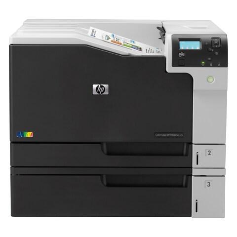 HP LaserJet M750DN Laser Printer - Color - 600 x 600 dpi Print - Plai