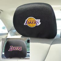 Fanmats NBA Los Angeles Lakers Head Rest Cover