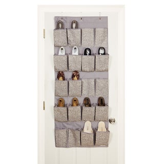 20-pocket Fern Over the Door Shoe Organizer