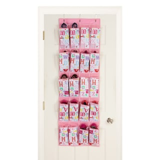 Owlphabet 20-pocket Over the Door Shoe Organizer
