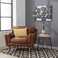 Carson Carrington Beatnik Oxford Tan Leather Chair