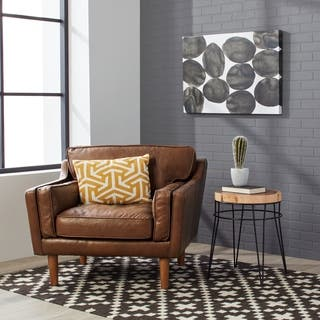 Leather Living Room Chairs For Less | Overstock.com