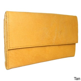Women's Cowhide Leather Billfold Wallet