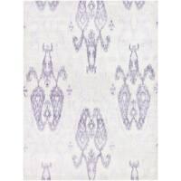 Couristan Sagano Zodiac/Ivory-Lilac Area Rug - 3'5 x 5'5