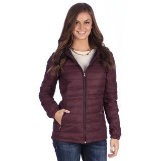 United Face Women's Lightweight Hooded Down Jacket (Option: Brown) https://ak1.ostkcdn.com/images/products/8557337/P15834487.jpg?impolicy=medium