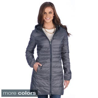 United Face Women's Lightweight Hooded Down Coat