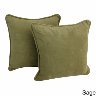 Copper Grove Elk Island 18-inch Microsuede Throw Pillow (Set of 2)