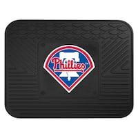 Fanmats MLB Philadelphia Phillies Rubber Versatile Utility Mat