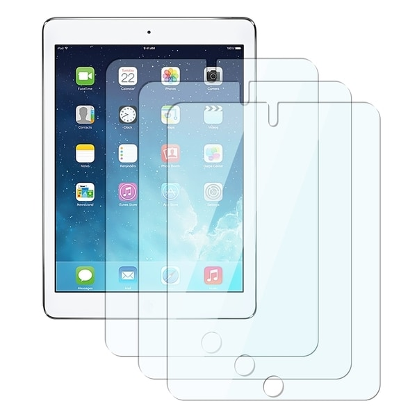 INSTEN Clear Screen Protector for Apple iPad Air 1/ 2 (Pack of 3)