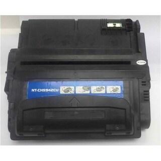 INSTEN Black Toner Cartridge for HP Q1338A, Q5942A 12K,