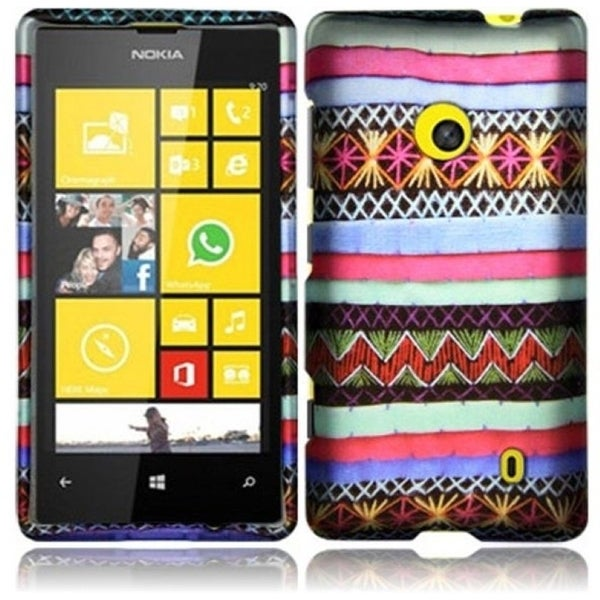 INSTEN Colorful Indian Pattern Phone Case Cover for Nokia Lumia 521