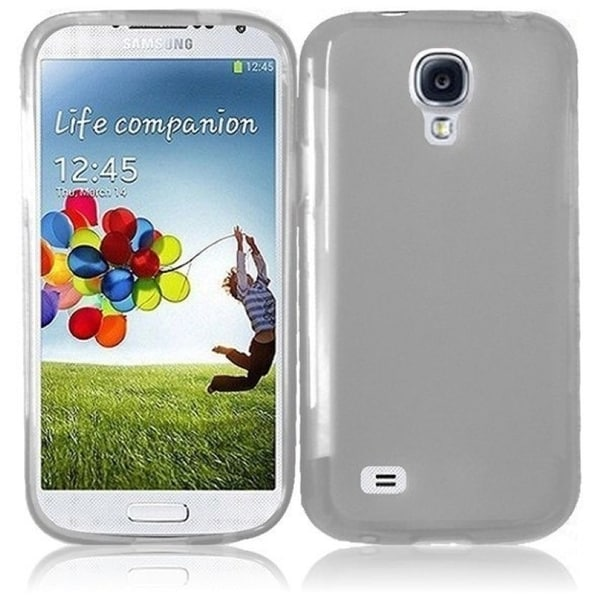 INSTEN Clear Frosted TPU Phone Case Cover for Samsung S4 Mini