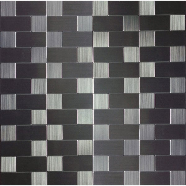peel and stick 1 foot mosaic tile free shipping on orders over 45