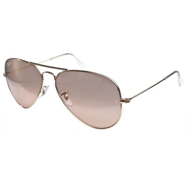 Ray-Ban 3025 Gold Sunglasses