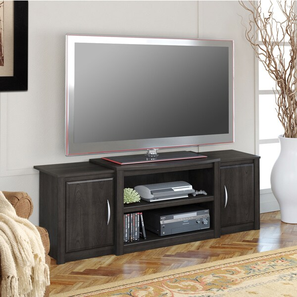 ameriwood home cohen 60inch tv stand with media storage