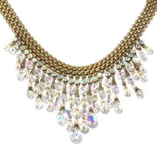 Sweet Romance Hollywood Vintage Aurora Fringe Collar Necklace