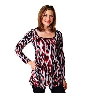 24/7 Comfort Apparel Women's Long-sleeve Top