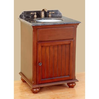 25-inch Bosconi T-3741 Classic Single Vanity