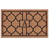 Pantera Extra-thick Monogrammed Doormat (1'6 x 2'6) - 1'6 X 2'6