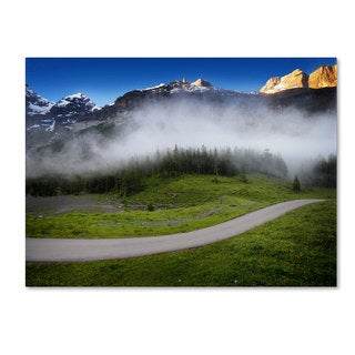 Philippe Sainte-Laudy 'Morning Sound Clouds' Canvas art