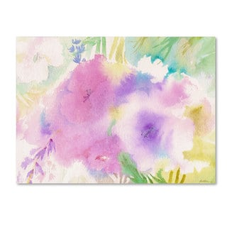 Sheila Golden 'Purple Magic' Canvas Art