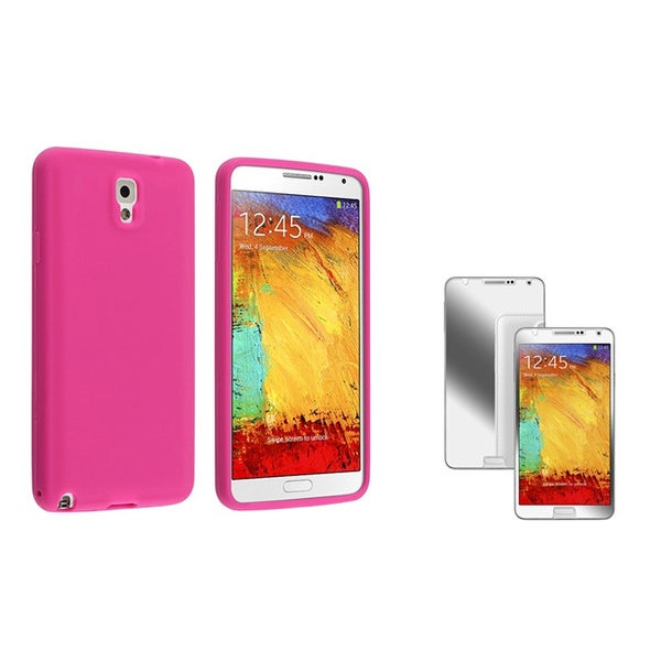 BasAcc Case/ Mirror Screen Protector for Samsung Galaxy Note III N9000