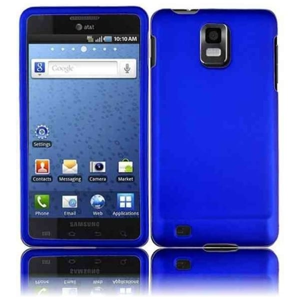 INSTEN Blue Phone Case Cover for Samsung i997 Infuse 4G