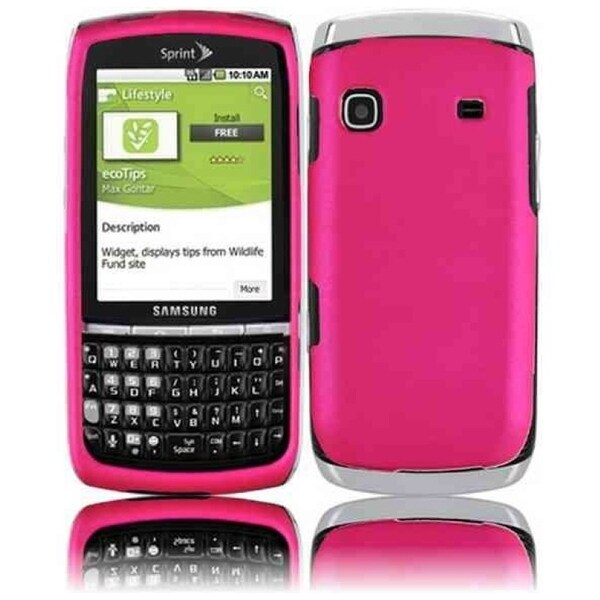 INSTEN Hot Pink Phone Case Cover for Samsung Replenish M580