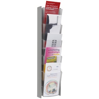 Alba 5-pocket Grey Wall Document Display