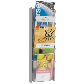 Alba 5-pocket Grey A5 Wall Document Display