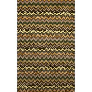 Winding Stripe Indoor Rug (5'X8')