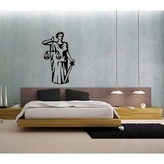 Themis the Greek Goddess of Judgement Vinyl Wall Decal