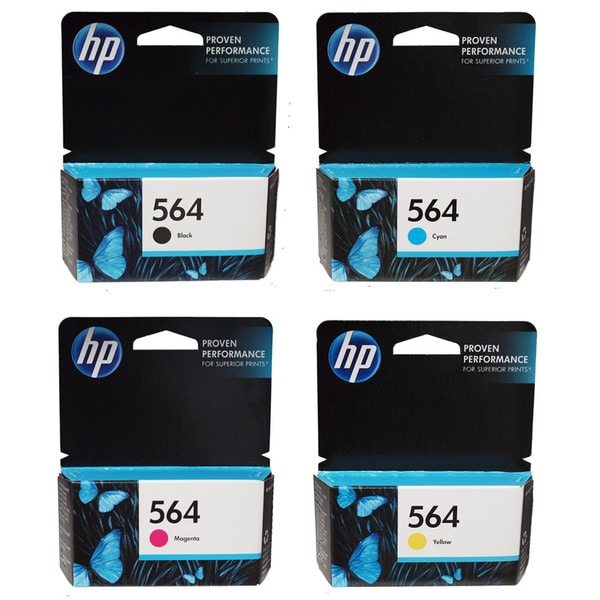 HP 564 BCMY Ink Cartridges (Pack of 4)