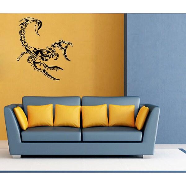 Scorpion Vinyl Wall Decal