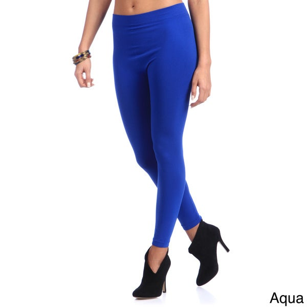 Nollia Women's Solid Seamless Leggings